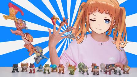 侏罗纪世界迷你小恐龙第六代 会咬手指会卖萌