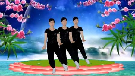 冬菊广场舞【无尽的泪水】新歌新舞时尚活力健身正面演示附背面分解