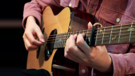 超好听入门吉他曲《愿望的樱花》琴声一出感觉就有了