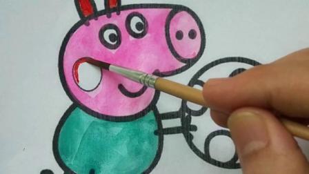 简笔画小猪佩奇