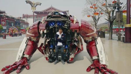 钢铁侠MK85大战灭霸,悟空霸气救场,终局之战,谁与争锋!