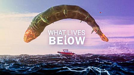 平静的海面突然电闪雷鸣,一只巨鲸从海底钻了出来!
