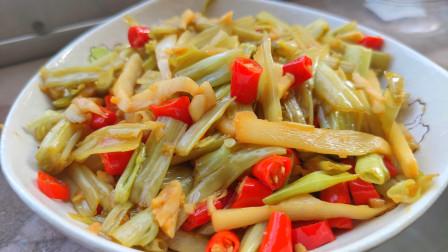 两广人最爱吃的空心菜做法,搭配白粥最过瘾,每次都能多吃三碗