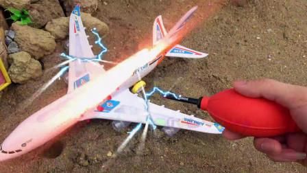 汽车修理飞机,婴幼儿宝宝早教益智游戏视频