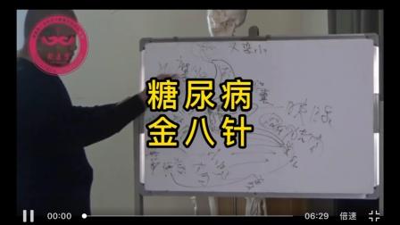金八针调理糖尿病张荣江针灸培训班