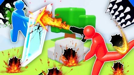 3D火柴人乱斗 地图升级!成哔哔是成为史莱姆大师的男人