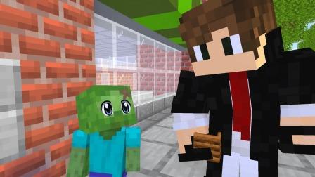 MC动画世界:好的婴儿英雄和坏的婴儿僵尸