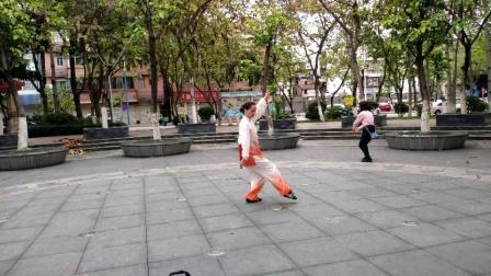健身武术《黄河扇之中国娃》