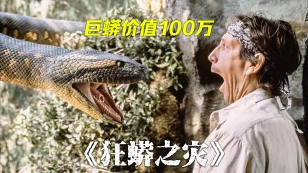 让大家闻风丧胆的大蟒蛇,大爷却想抓来卖!