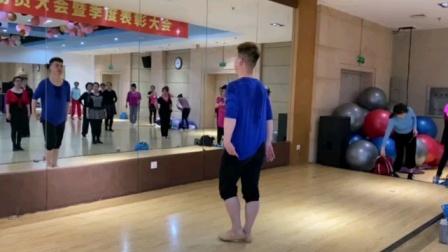 沈阳小白老师原创训练舞蹈【枕雪楼】背面完整版