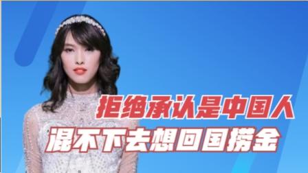 拒绝承认是中国人,如今混不下去想回国捞金,惨遭网友怒斥!