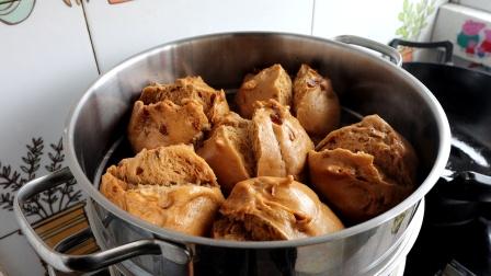 红糖大枣开花大馒头的制作方法,又香又甜又好吃,做法超简单