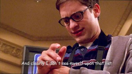 蜘蛛侠1:如你离开了这套战衣就一无是处的话, 那你不应该拥有它, 能力越大责任越大