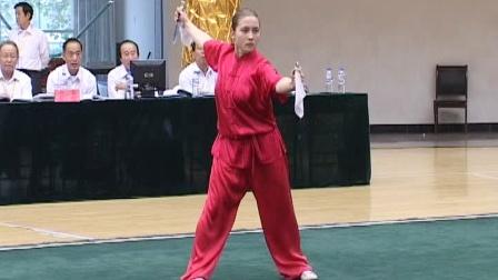 第二届世界传统武术节套路精选 028 女子传统器械