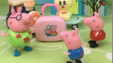 猪爸爸去出差了, 看看孩子们想要什么礼物