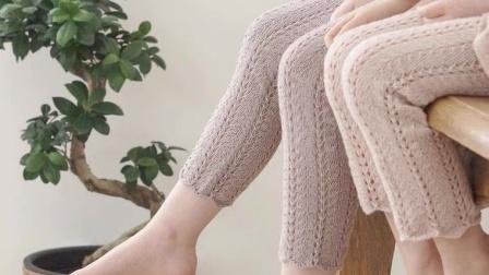 【上集】兔兔编织坊麦穗儿童毛线裤毛线棒针DIY编织教程