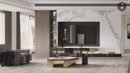 复式大宅流行装现代风,舒适、雅致,让家的质感加倍提升!
