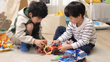 布鲁可动画同款玩具试玩30多种玩法造型