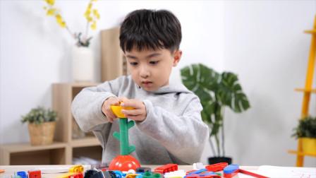 用儿童积木玩具实现孩子的奇思妙想