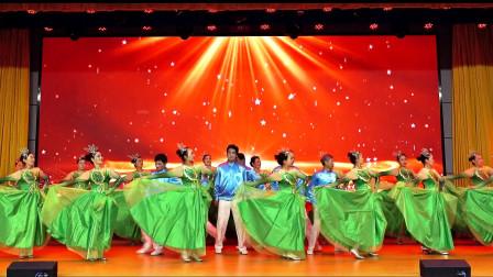 舞蹈:唱响正气歌,表演:开封映山红艺术团