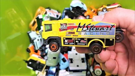 玩具盒子之彩色的工程车汽车轿车玩具