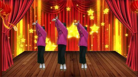 DJ广场舞《打是亲骂是爱》优美动听的旋律,简单欢快的舞步