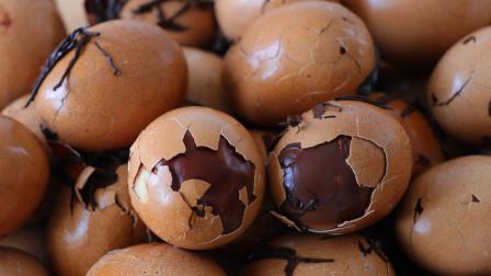卤香茶叶蛋做法:只要简单3步,茶味浓郁,鸡蛋滑嫩,好吃又入味