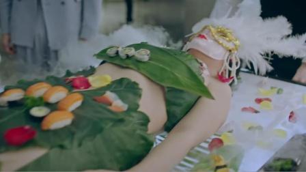奇葩的日本风俗餐馆,厨师将美貌女尸端上餐桌,当做盛菜的容器