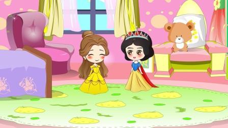 白雪给王子准备了生日礼物,王子却让她失望,还好有贝儿姐姐!