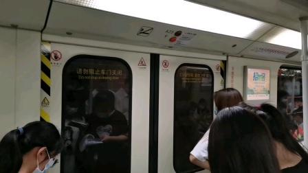 [😷]广州地铁1号线(长寿路➡︎黄沙)运行与报站A1.西门子🇩🇪(01×25-26)