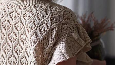 【上集】兔兔编织坊曼丽儿童成人夏季长绒棉套头衫毛线棒针DIY编织教程