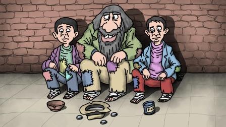 咖子谜题:三位乞丐当中谁是老大?