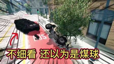 车祸模拟器324 飞机上掉下来一辆装甲车 修修补补还能用来抓坏人