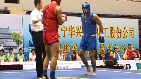 第十二届全运会武术散打比赛 男子 04单元 019 男子