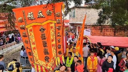 三月十八日新圩梧村苏底白片纪念民族英雄《裴九娘》活动