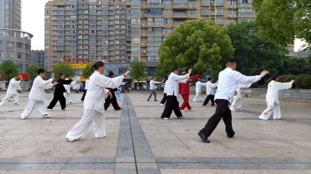 崇福☞传统杨氏太极拳联谊会,20210501劳动节,演练85式太极拳