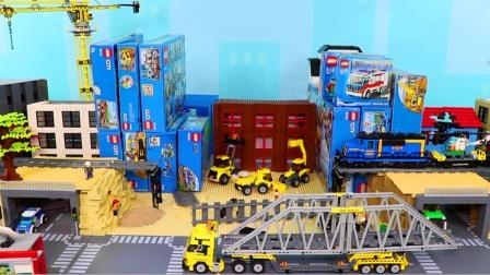 儿童启蒙玩具乐园:消防车、救护车、警车、轮船、环卫车、挖掘机