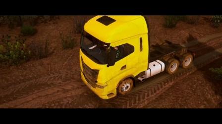 世界卡车模拟-新系统:泥泞污垢