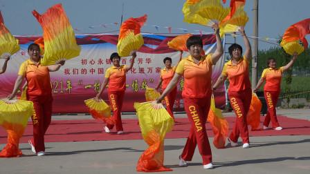 红红火火中国年     表演单位:茌平区胡屯镇陶集村舞蹈队