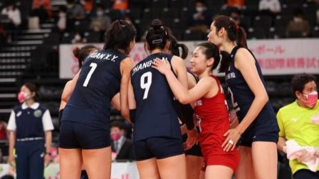 东京奥运会女排测试赛  中国女排vs日本女排
