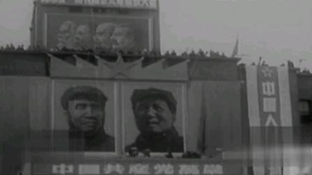 新中国庆祝五一劳动节,仪式感爆棚,毛主席亲自接见民众