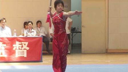 2006年全国青少年武术套路锦标赛 女子刀术 012 阎小乐