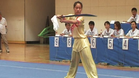 2006年全国青少年武术套路锦标赛 女子刀术 013 李梦阳