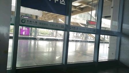 CRH2A-D6506次福州-南昌西抚州5站台进站和谐号南局昌段