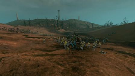 全面战争战锤2294mod 恩度废墟 玛丽恩堡自由城 VS 丛林之眼