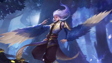 王者荣耀爆笑日记08:最强打野套路云中君,在天空中飞翔的大鹏鸟