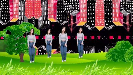 火爆DJ广场舞《溜溜的情歌》,美女舞蹈劲爆有活力,太撩人