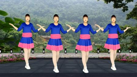 广场舞《越爱越心疼》伤感情感好听,欢快32步,轻松学跳