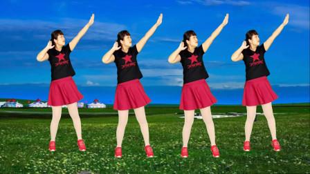 新跳广场舞《心上的罗加》水兵舞风格,天籁之音,好听好看