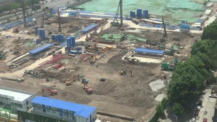 阿里巴巴华中总部工地, 2021年5月2号。